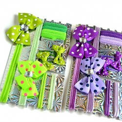 Girls 12pcs hair accessory set