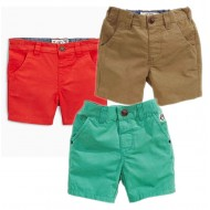 Zara Boys Twill Shorts- 3mths-24mths- assorted colours
