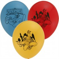 Cartoon 10pack  Printed Latex Balloons - Spiderman, Pooh, Cars, Smurfs, Kitty