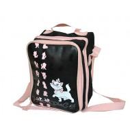 Marie Dual Zipper Messenger bag