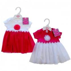 Soft Touch Baby Girls Tutu Bodysuit  3-6, 6-9mths