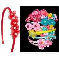 Girls Blossom Hair Alice Bands