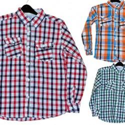 Oshkosh Boys Plaid Shirts- 3 colours- 6-12years