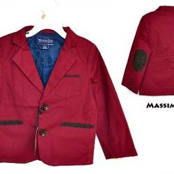 Massimo Dutti Toddler boys Blazer Jacket- Navy, Maroon (1-5yrs)