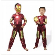 Ironman Superhero Fancy Costume with mask (2-8yrs)