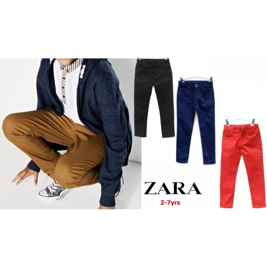 Zara Kids- Boys Straight Fashion Pants (2-5yrs)