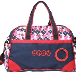 Bravo Geometric Mother & Baby Bag