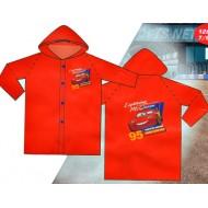 Disney Cars 100% PVC Raincoat- 3-4yrs, 5-6yrs