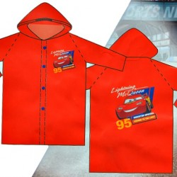 Disney Cars 100% PVC Raincoat- 3-4yrs, 5-6yrs