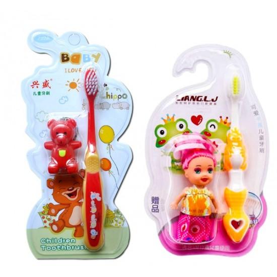 Kids Toothbrush & Doll Set- 12pack