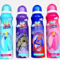 Bon-Bon Question Kids Body spray- assorted characters