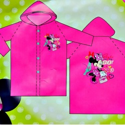 Disney Minnie 100% PVC Raincoat- 5-6yrs