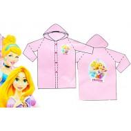 Disney Princess 100% PVC Raincoat- 3-4yrs, 5-6yrs