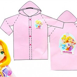 Disney Princess 100% PVC Raincoat- 3-4yrs, 5-6yrs