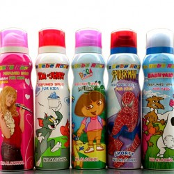 Style Baby/ Bebe Rose Perfumed Body Spray for Kids- assorted