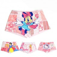 Girls 2pack character boxer Shorts- Hello Kitty, Barbie, Minnie