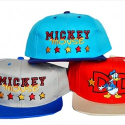 Mickey Mouse/Donald Boys Fashion Baseball Caps