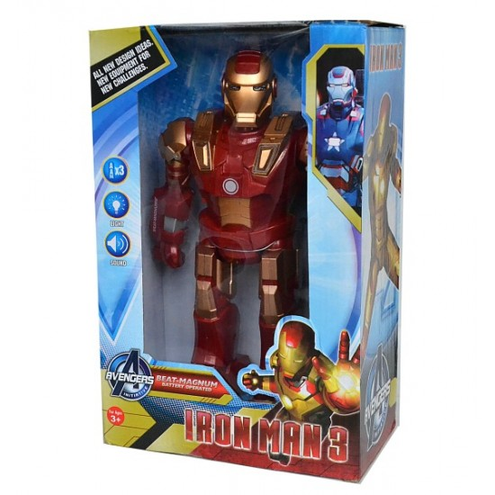 Iron Man 3 Beat Magnum Battery Operated Figure Toy