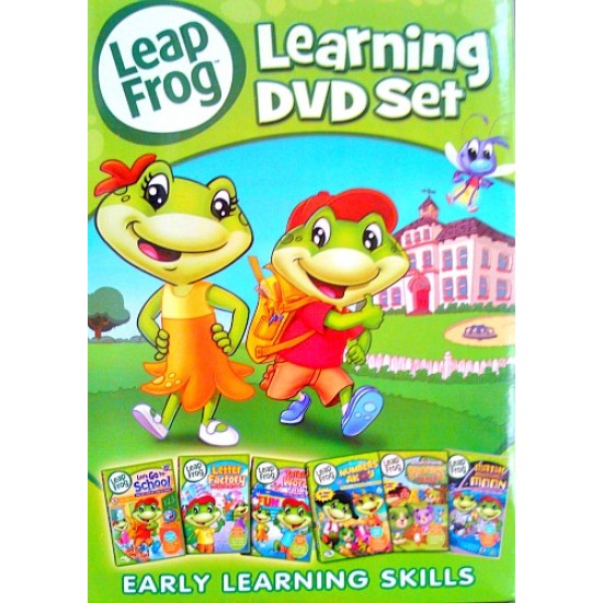 LeapFrog: Learning DVD Set- 4 DISC