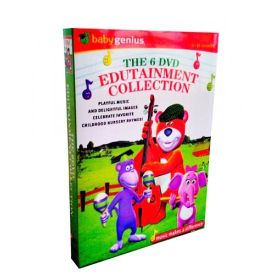 Baby Genius 6- DVD Collection