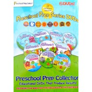 Preschool Prep Series 6 DVD Pack