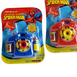 Spiderman Picture Viewer / Projector Camera with Light