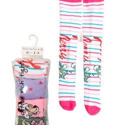 Platinum Footsteps Character 4pack Cotton Rich Tights