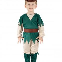 Toddler Boy Robin Hood Fancy Dress Costume (3yrs)