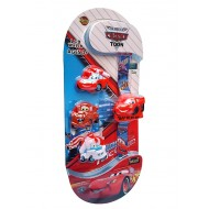 DISNEY CARS LCD WATCH WITH 4 INTERCHANGEABLE COVERS