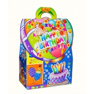 Foldable Birthday Gift box- pack of 12