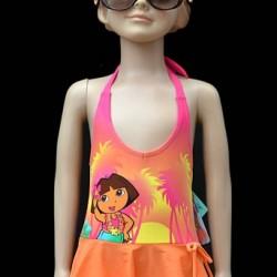 Dora Girls One Piece Halter Swim wear (2-3yrs)