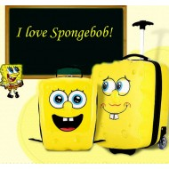 SpongeBob 2pcs 3d Luggage & Backpack set