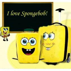 SpongeBob 2pcs 3d Luggage & Backpack set