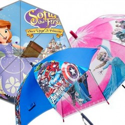 Character Umbrellas New designs- Frozen, Sofia, Avengers