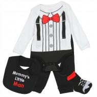 NUBY BABY BOYS 4PC LAYETTE SET- Mommy's Little Man