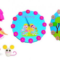 Lalaloopsy Kids Wooden WALL CLOCK for Kids Room