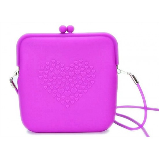 Girls Silicone Shoulder/Sling Bags- assorted colours