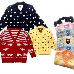 Baby Knit Sweater Cardigan - Assorted designs (0-12mths)