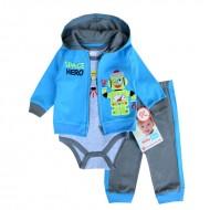 "NUBY Baby Boys "" Space Hero"" 3pcs set (18mths, 24mths)"