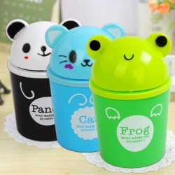 Cute Animal Room Trash Can- assorted colours