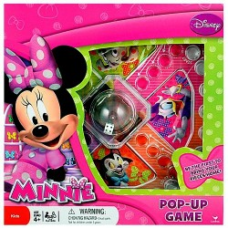 Disney Pop Up Game- assorted- Doc, Minnie, Planes