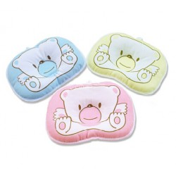 Infant/Baby Head Support Pillow - assorted colours