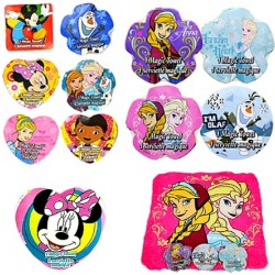 Disney Expanding Magic Towels-  Assorted characters (frozen, Doc, Princess, Mickey, Minnie)