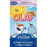 Disney Frozen Jumbo Movie Playing Cards- I'M OLAF