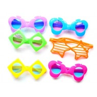 Assorted Funky plastic Eyeglasses- pack of 12
