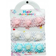 Baby Girl 3pack headband set