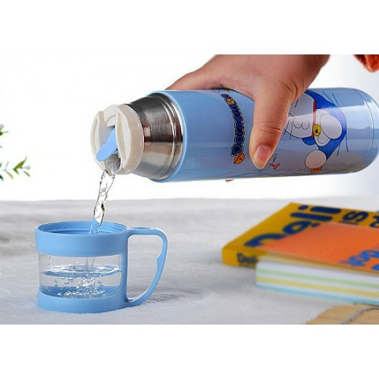Cartoon Thermosteel Vacuum Bottle with Cup/Cover (500ml)