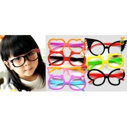 Kids Open Lens Fancy Eyeglasses- assorted designs