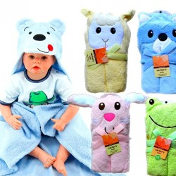 Carters Baby Animal Hooded Bath Towels- assorted designs