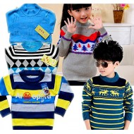Kids Knitted Sweaters- Assorted Designs (2-6yrs)